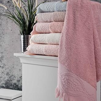 Набор полотенец для ванной (6 шт.) Karna DIVA махра хлопок