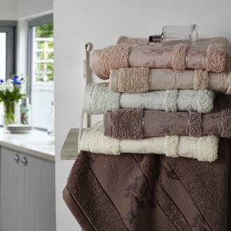 Набор полотенец для ванной (6 шт.) Karna FOREST махра хлопок