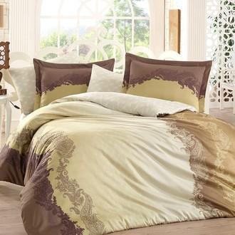 Комплект постельного белья Hobby FILOMENA сатин хлопок (коричневый)