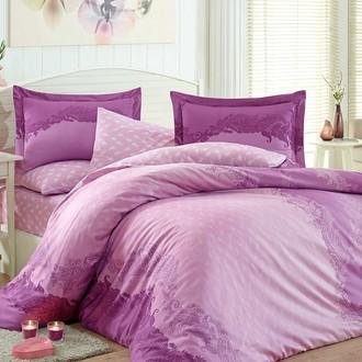 Комплект постельного белья Hobby FILOMENA сатин хлопок (фиолетовый)