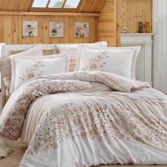 Комплект постельного белья Hobby SERENA сатин хлопок (бежевый)