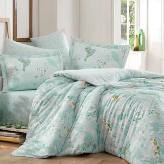 Комплект постельного белья Hobby MYSTERY сатин хлопок (зелёный)