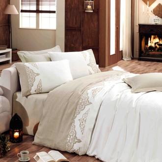 Комплект постельного белья Hobby ADORA сатин хлопок (кремовый)