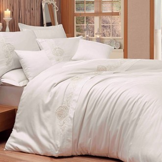 Комплект постельного белья Hobby ANTONIA сатин хлопок (кремовый)