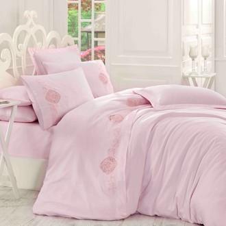Комплект постельного белья Hobby ANTONIA сатин хлопок (пудра)