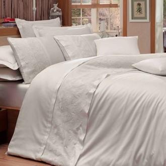 Комплект постельного белья Hobby REYNA сатин хлопок (кремовый)
