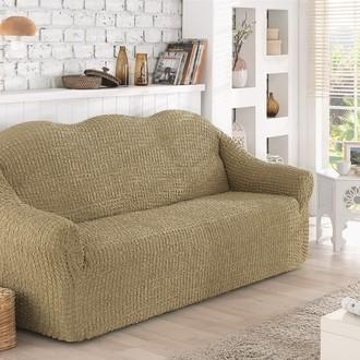Чехол на диван без юбки Karna (бежевый)