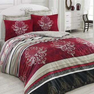 Комплект постельного белья Cotton Box ROYAL SATEN AZRA сатин хлопок (бордовый)