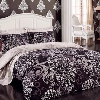 Комплект постельного белья Cotton Box ROYAL SATEN RUYA сатин хлопок (бежевый)
