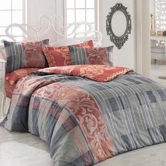 Комплект постельного белья Cotton Box SATEN LINE HANZADE сатин хлопок (бордовый)