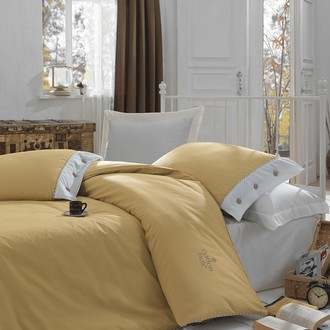 Комплект постельного белья Cotton Box PLAIN LINE ранфорс хлопок (карамель)
