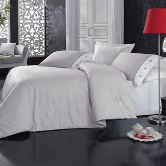 Комплект постельного белья Cotton Box PLAIN LINE ранфорс хлопок (серый)