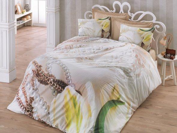 Комплект постельного белья Cotton Box 3D LIFE SERIES PAOLA ранфорс хлопок евро, фото, фотография