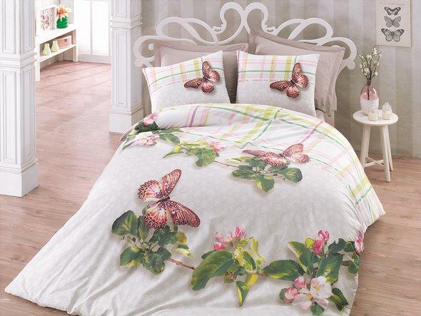 Комплект постельного белья Cotton Box 3D LIFE SERIES BRENDA ранфорс хлопок евро, фото, фотография