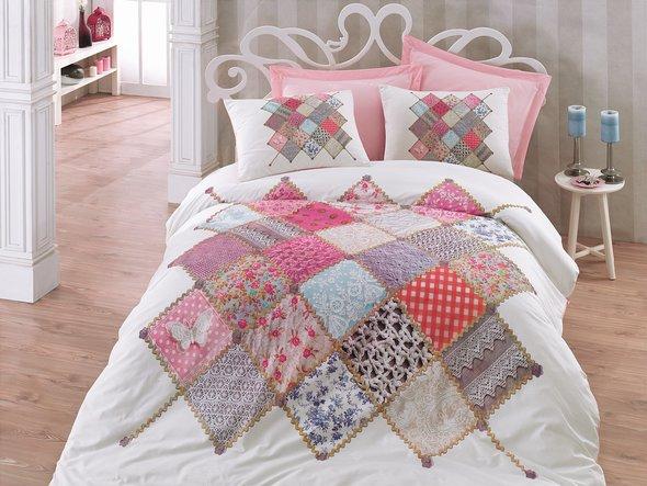 Комплект постельного белья Cotton Box 3D LIFE SERIES NATALI ранфорс хлопок евро, фото, фотография