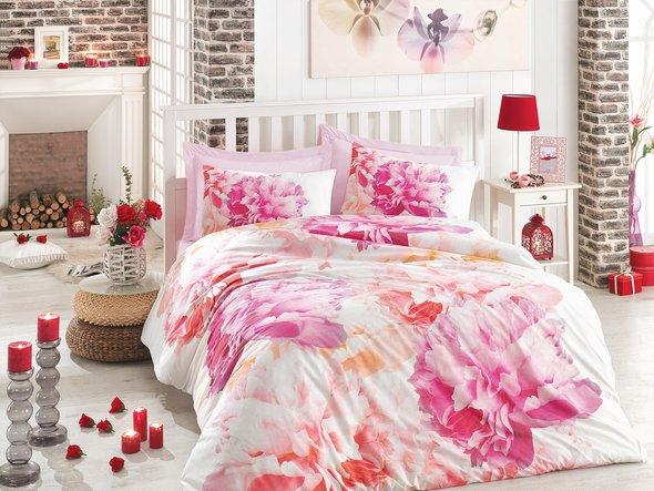 Комплект постельного белья Cotton Box 3D LIFE SERIES DREAMY ранфорс хлопок евро, фото, фотография