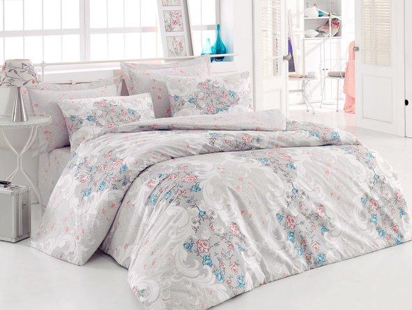 Комплект постельного белья Cotton Box MODE LINE MARLIN ранфорс хлопок евро, фото, фотография