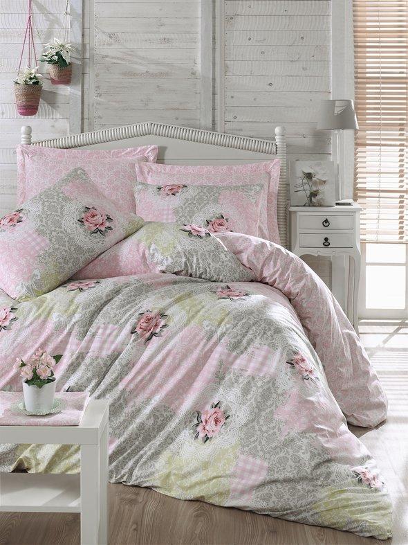Комплект постельного белья Cotton Box MODE LINE MALANI ранфорс хлопок евро, фото, фотография