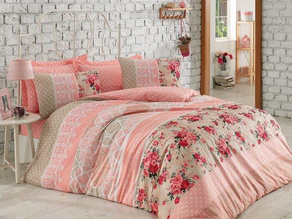 Комплект постельного белья Cotton Box MODE LINE EMMA ранфорс хлопок евро, фото, фотография