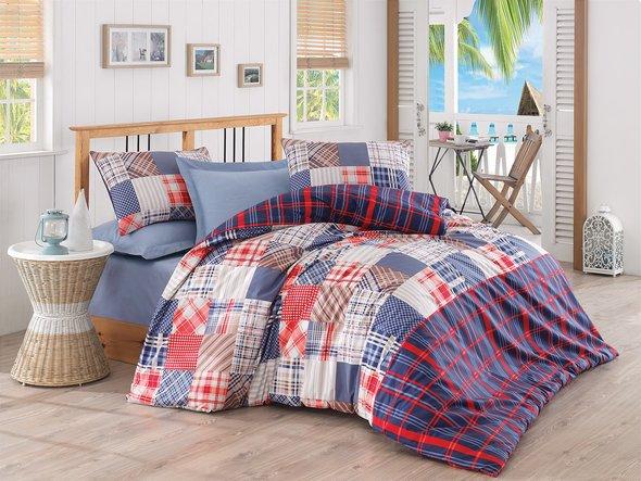 Комплект постельного белья Cotton Box MODE LINE JOSE ранфорс хлопок евро, фото, фотография