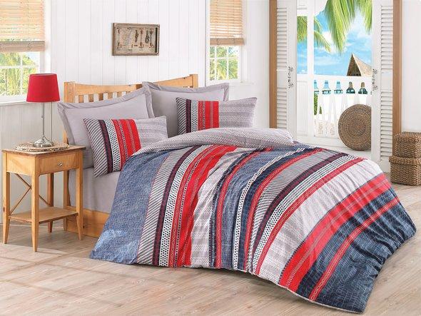 Комплект постельного белья Cotton Box MODE LINE VERA ранфорс хлопок евро, фото, фотография