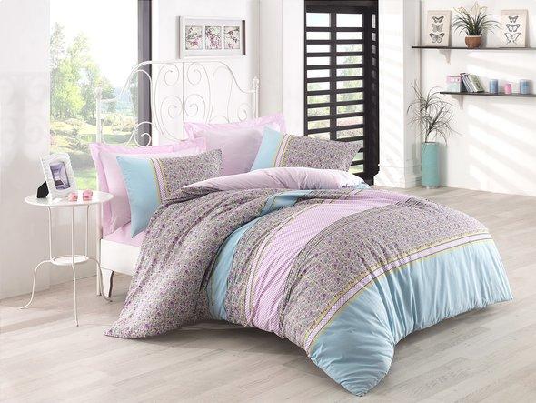 Комплект постельного белья Cotton Box MODE LINE JAYLA ранфорс хлопок евро, фото, фотография