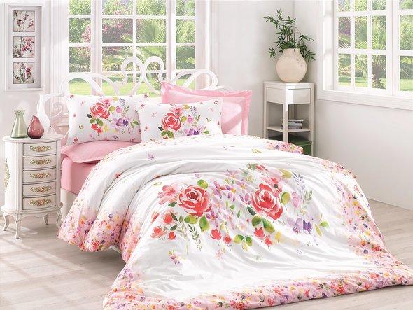 Комплект постельного белья Cotton Box MODE LINE HELYA ранфорс хлопок евро, фото, фотография