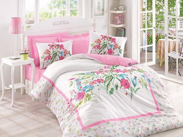 Комплект постельного белья Cotton Box MODE LINE MEHSIMA ранфорс хлопок евро, фото, фотография