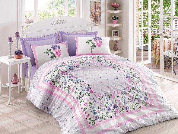 Комплект постельного белья Cotton Box MODE LINE MESI ранфорс хлопок евро, фото, фотография