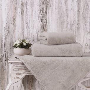 Полотенце для ванной Karna MORA микрокоттон хлопок кофейный 90х150
