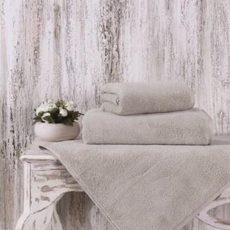 Полотенце для ванной Karna MORA микрокоттон хлопок (кофейный)