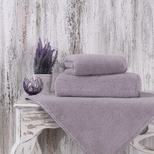 Полотенце для ванной Karna MORA микрокоттон хлопок светло-лавандовый 70х140
