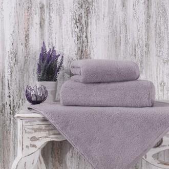 Полотенце для ванной Karna MORA микрокоттон хлопок (светло-лавандовый)