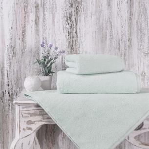 Полотенце для ванной Karna MORA микрокоттон хлопок светло-зелёный 70х140