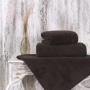 Полотенце для ванной Karna MORA микрокоттон хлопок коричневый 70х140