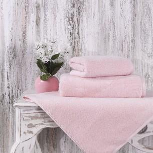 Полотенце для ванной Karna MORA микрокоттон хлопок пудра 90х150