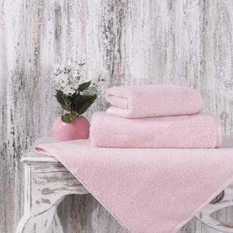 Полотенце для ванной Karna MORA микрокоттон хлопок (пудра)