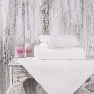 Полотенце для ванной Karna MORA микрокоттон хлопок кремовый 90х150