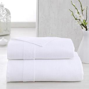 Полотенце для ванной Karna TRUVA микрокоттон хлопок белый 90х150