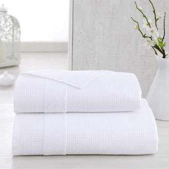 Полотенце для ванной Karna TRUVA микрокоттон хлопок (белый)