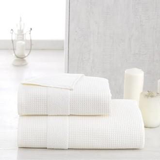 Полотенце для ванной Karna TRUVA микрокоттон хлопок (кремовый)