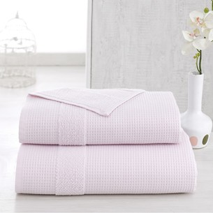 Полотенце для ванной Karna TRUVA микрокоттон хлопок светло-розовый 90х150
