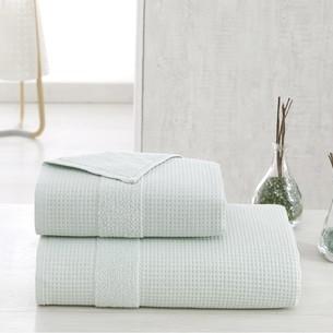 Полотенце для ванной Karna TRUVA микрокоттон хлопок зелёный 90х150