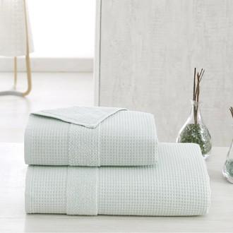 Полотенце для ванной Karna TRUVA микрокоттон хлопок (зелёный)