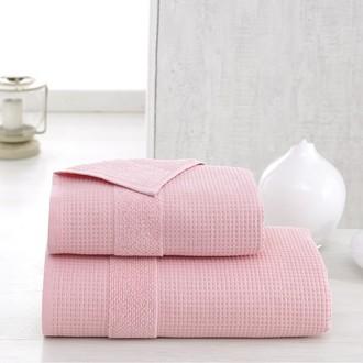 Полотенце для ванной Karna TRUVA микрокоттон хлопок (розовый)