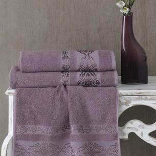 Полотенце для ванной Karna REBEKA махра хлопок светло-лавандовый 50х90