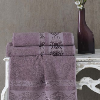 Полотенце для ванной Karna REBEKA махра хлопок светло-лавандовый