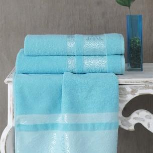 Полотенце для ванной Karna REBEKA махра хлопок бирюзовый 50х90