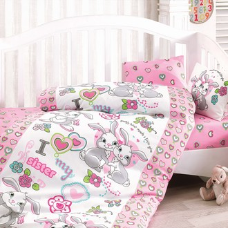Комплект постельного белья в кроватку Cotton Box BABY LINE TAVSAN KARDES ранфорс хлопок