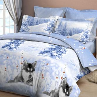 Комплект постельного белья Cleo B-356 бязь хлопок
